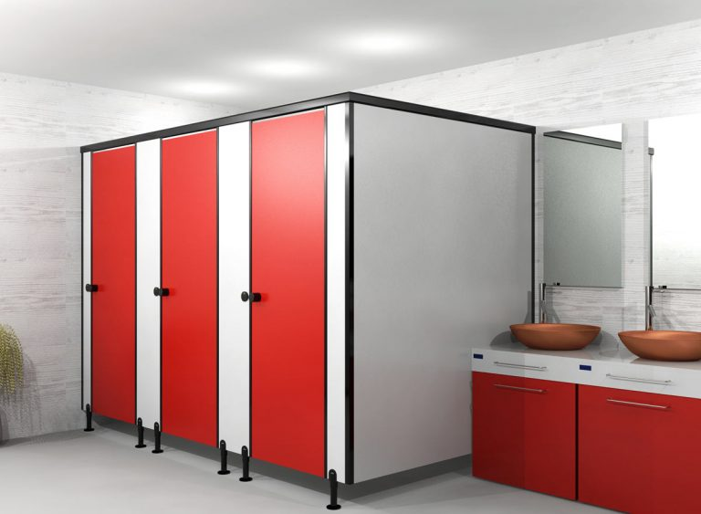 Сантехнические перегородки для туалетов